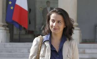 Cécile Duflot, le 7 septembre 2012 à l'Elysée.