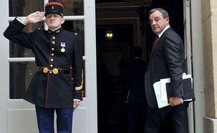 Thierry Mariani, le ministre des Transports, à l'hôtel Matignon, le 11 mai 2011.