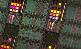 Des processeurs quantiques de la société D-Wave.