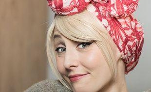 Les franges «Franjynes» de Julie, associées à un turban, seront vendues 50 euros.