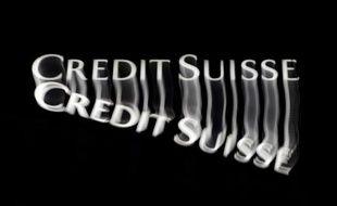 Le logo du Crédit Suisse