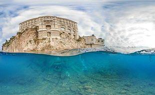 Les plongeurs sont intervenus sur la quasi totalité des eaux monégasques, entre la roche Saint-Nicolas et la Vigie.