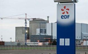 La centrale nucleaire du Blayais. A Braud et Saint-Louis, 26 janvier 2012.