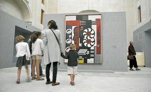 """""""Fernand Léger: reconstruire le réel"""", à la chapelle de l'Oratoire."""