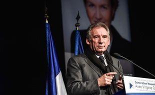 Francois Bayrou (MoDem), le 28 novembre 2015.