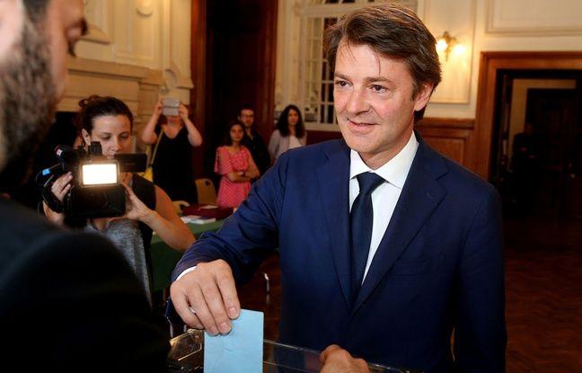 Francois Baroin, chef de file LR des législatives, le 11 juin 2017. PHOTO AFP / FRANCOIS NASCIMBENI