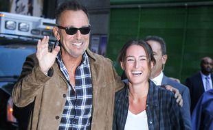 Le Boss, Bruce Springsteen, et sa fille, la cavalière Jessica Springsteen