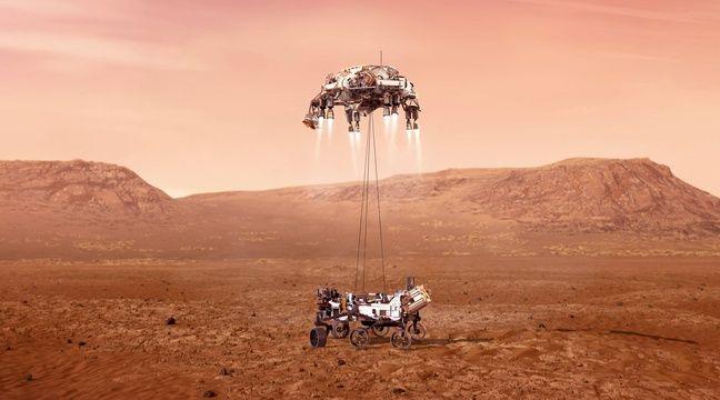 De la vapeur d'eau découverte dans l'atmosphère de Mars - 20minutes.fr