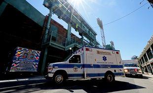 Des ambulances à Boston.