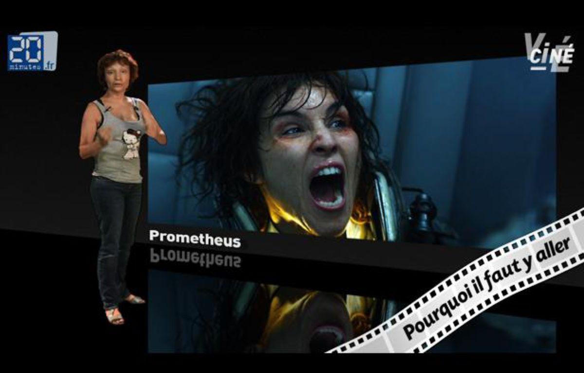 Caroline Vié décrypte Prometheus de Ridley Scott. – 20minutes
