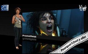 Caroline Vié décrypte Prometheus de Ridley Scott.