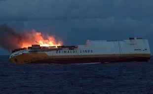 Le Grande America a fait naufrage au large de La Rochelle le mardi 12 mars.