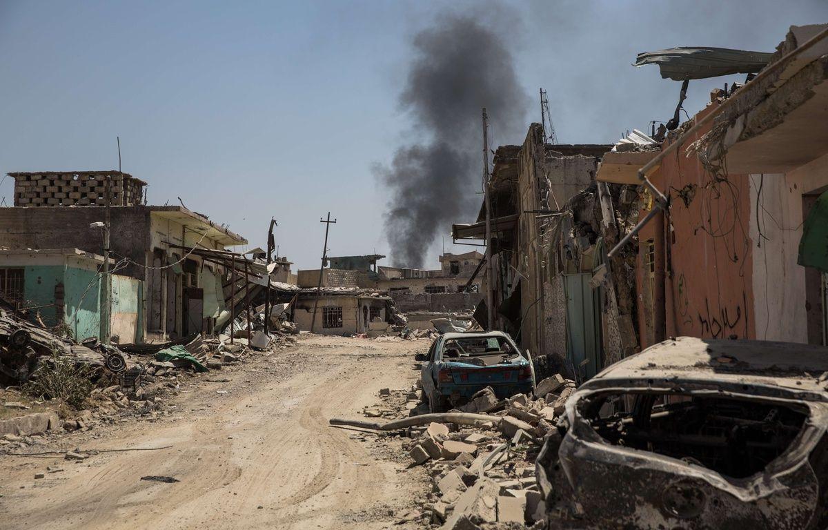 Le quartier d'Al Zinjili, à Mossoul Ouest, le 13 juin 2017. – Laurence Geai/SIPA