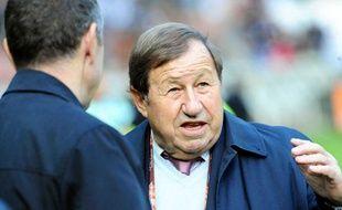 Guy Roux, lors d'une discussion avec Robin Leproux, le 24 octobre 2010