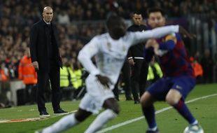 Zinédine Zidane est toujours invaincu au Camp Nou.