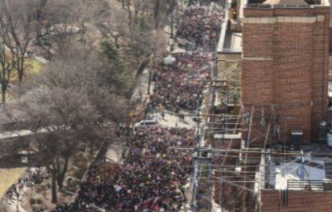 Un an de Trump à la Maison-Blanche: La nouvelle «Marche des femmes» réunit des centaines de milliers de manifestants