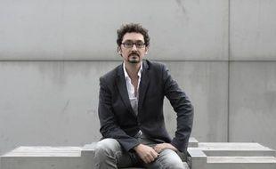 L'écrivain français David Foenkinos à Paris le 3 novembre 2014