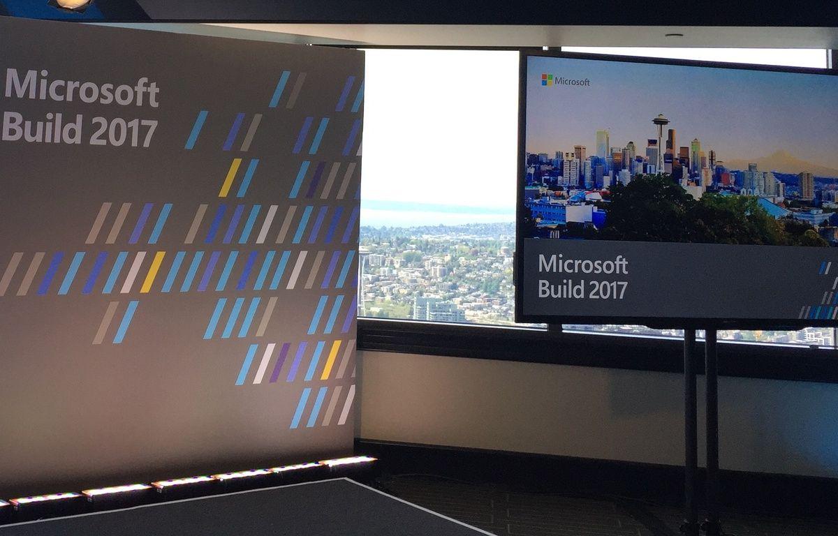 La Microsoft Build se déroule du 10 au 12 mai 2017 à Seattle – L. BEAUDONNET / 20 MINUTES