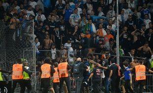 Les incidents lors d'Angers - OM.