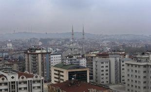 Vue générale de Gaziantep (Turquie), le 17 décembre 2015.