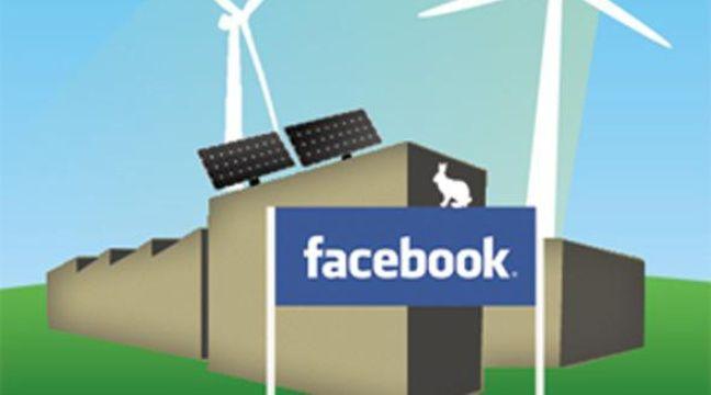 Capture d'écran du site de Greenpeace: campagne contre Facebook pour l'utilisation d'énergies renouvelables. – www.greenpeace.org
