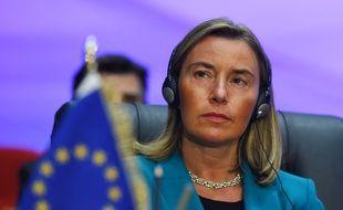 La cheffe de la diplomatie européenne Federica Mogherini, le 25 février 2019.