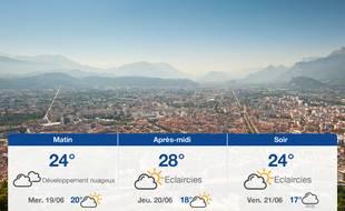 Météo Grenoble: Prévisions du mardi 18 juin 2019