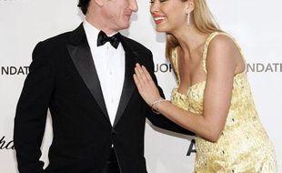 Sean Penn et Petra Nemcova, le 24 février à Los Angeles