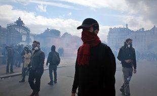 Des «casseurs» lors des manifestations du 14 juin 2016 à Paris