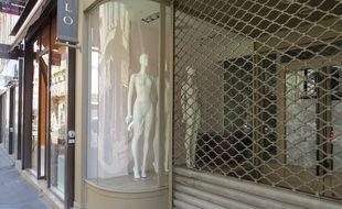 Des commerces en centre-ville de Marseille