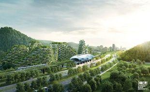 En 2020, la ville de Liuzhou en Chine devrait avoir changé de visage (photo : cabinet Stephano Boeri).