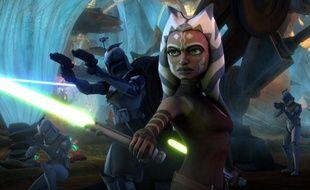 Ahsoka Tano, personnage créé dans la série animée «The Clone Wars» et l'un des meilleurs de toute la saga « Star Wars »