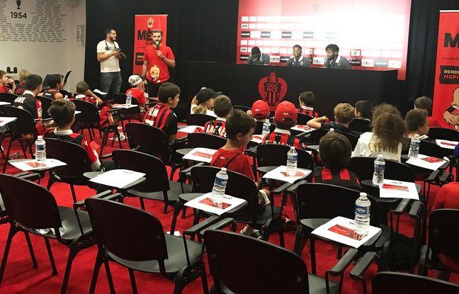 OGC Nice: «Chouchou de Vieira» et Fortnite, les Aiglons répondent aux questions des enfants