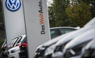 Un concessionnaire Volkswagen, le 22 septembre 2015 à Berlin