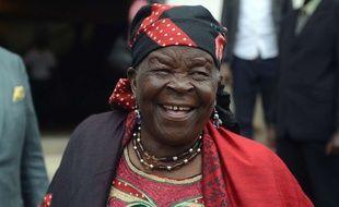 La grand-mère kényane du président américain Barack Obama, Mama Sarah, le 3 juillet 2015, à Nairobi.