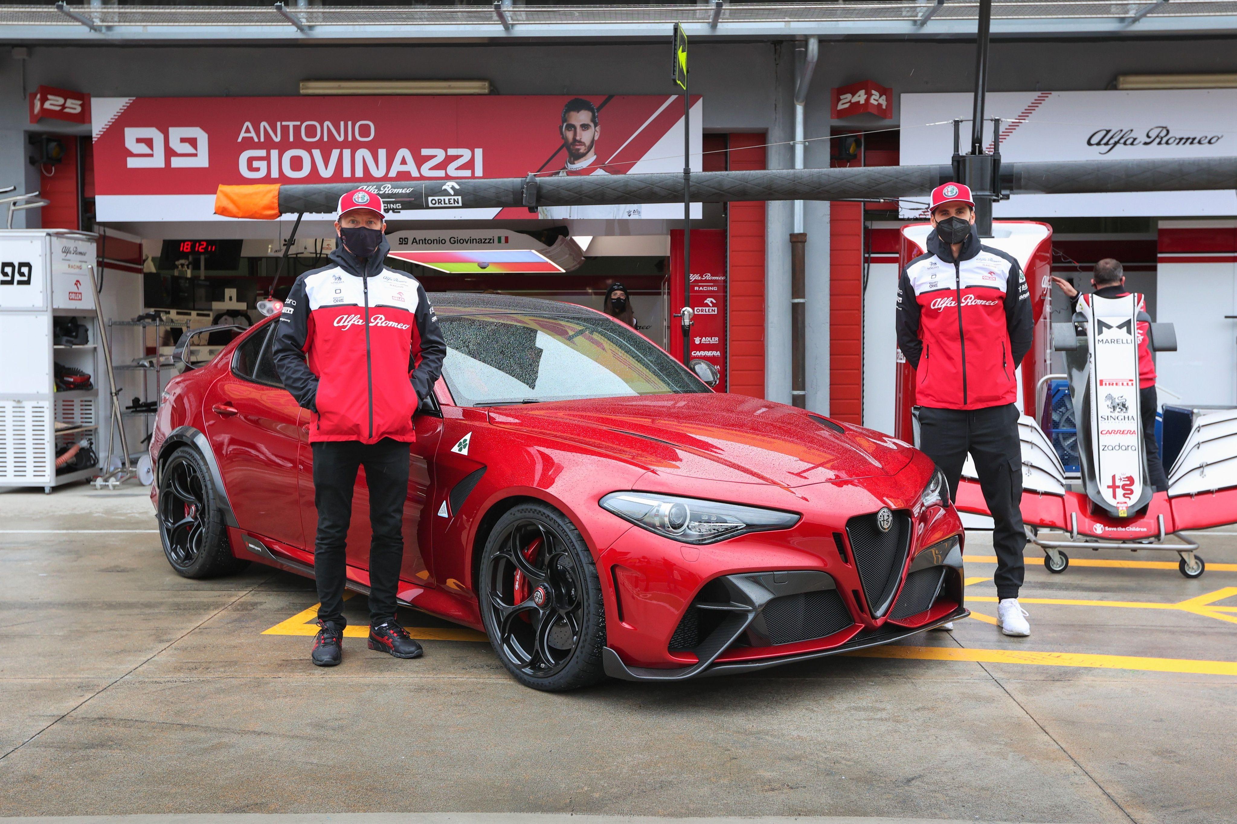 Alfa Romeo Giulia GTAm @ GP Imola