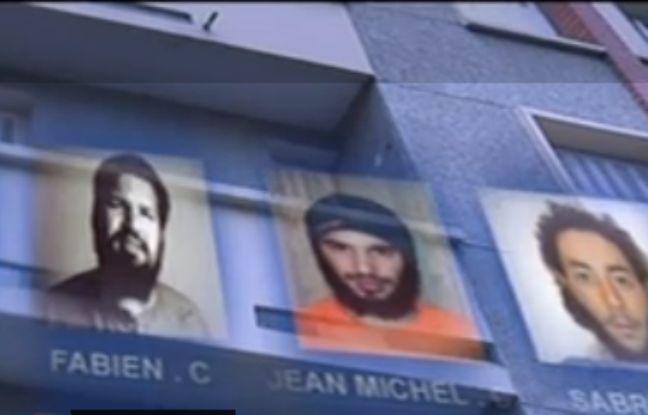 Fabien Clain (à droite), son frère Jean-Michel et Sabri Essid à l'époque de la filière d'Artigat.