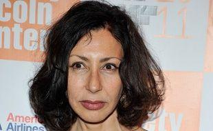 Yasmina Reza en septembre 2011, à New York.