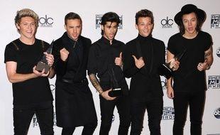 Le groupe One Direction en 2014