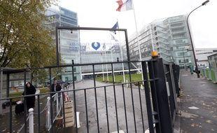 L'entrée de l'hôpital George Pompidou à Paris le 7 novembre dernier.