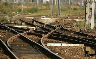 Image illustrant l'aiguillage des rails de la SNCF.