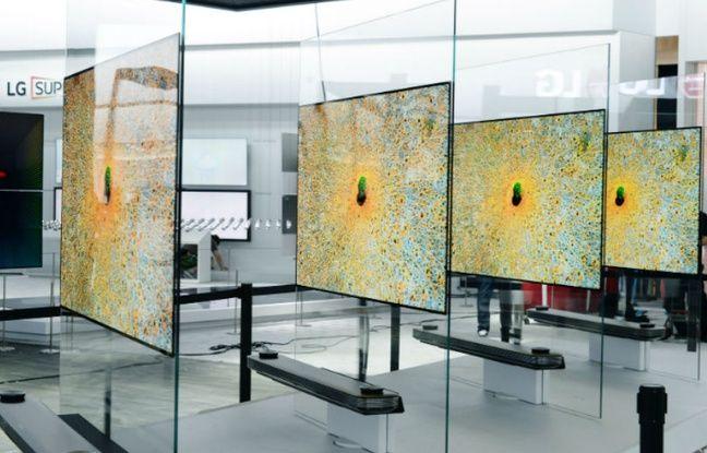 Les nouveaux téléviseurs OLED LG Signature.