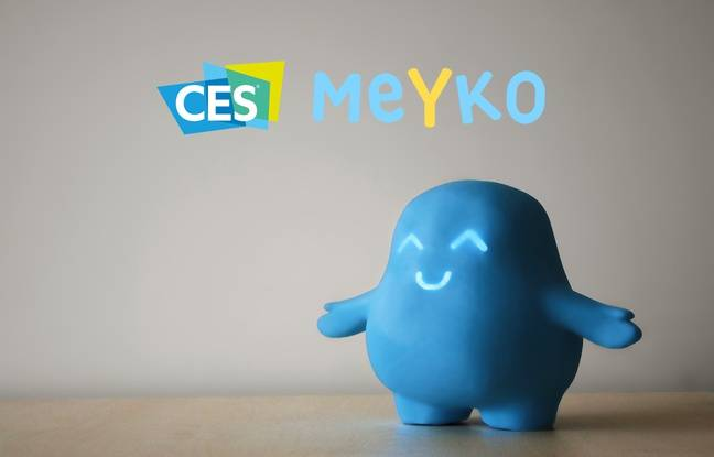 Meyko affiche une mine réjouie une fois le médicament absorbé.
