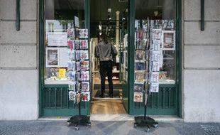 Une librairie à Paris le 30 octobre 2020.