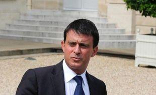 """Le ministre de l'Intérieur, Manuel Valls, a estimé dans un entretien à Aujourd'huien France/Le Parisien lundi que """"la sécurité n'est ni de droite, ni de gauche. C'est une valeur de la République""""."""