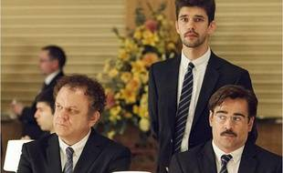 Ben Whishaw, Colin Farrell et John C. Reilly dans The Lobster