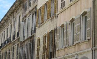Des immeubles à Marseille.
