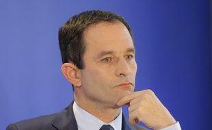 Benoît Hamon, le 10 mars 2017 à Paris.