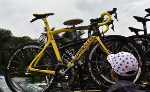 Des vélos de course de très haut de gamme ont été dérobés (illustration).