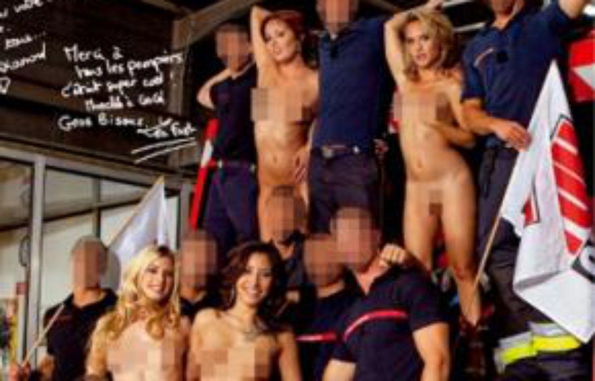Des pompiers ont joué à l'acteur porno. –  HOT VIDEO